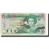 Banknote, East Caribbean States, 5 Dollars, 1993, KM:26l, UNC(63)