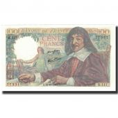 France, 100 Francs, 100 F 1942-1944 Descartes, 1944-10-12, UNC(63)
