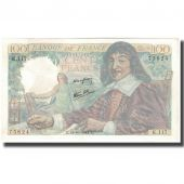 France, 100 Francs, 100 F 1942-1944 Descartes, 1944-10-12, UNC(65-70)