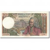 France, 10 Francs, 10 F 1963-1973 Voltaire, 1964-01-02, AU(55-58)