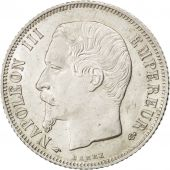 Second Empire, 1 Franc Napoléon III tête nue 1859 Paris, KM 779.1