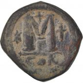 Justinian I, Follis, Constantinople, VF(30-35), Copper, Sear:158