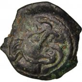Bituriges Cubes, Incertain, Bronze with wolf and with Pegasus, with S