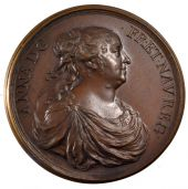 Anne d'Autriche, Medal, Royalty do not depend on the age