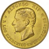 Alfonso XII, Médaille