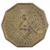 Lodge of the Perfect Union, Token