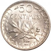 French Third Republic, 50 Centimes Semeuse