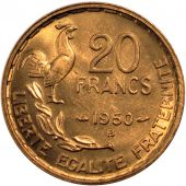 French Fourth Republic, 20 Francs Georges Guiraud