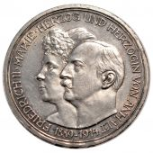 Germany, Anhalt Dessau, Friedrich II and Marie, 3 Mark
