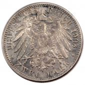 Germany, Baden, Frederick I, 2 Mark