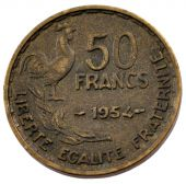 Fourth Republic, 50 Francs Guiraud