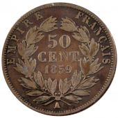 Second Empire, 50 Centimes