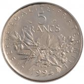 French Fifth Republic, 5 Francs Semeuse