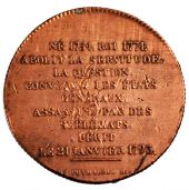 Louis XVI, The French Revolution, Token