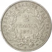 Gouvernement Défense Nationale, 2 Francs Cérès, 1871, Paris, KM 817.1
