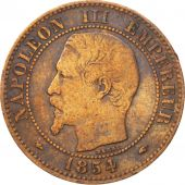 Second Empire, 2 Centimes Napoléon III, 1854 A, KM 776.1