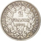 Gouvernement de Défense Nationale, 2 Francs Cérès 1871 A, KM 817.1