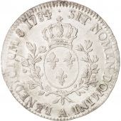 France, Louis XVI, �cu aux branches dolivier, Ecu, 1784, Paris, EF(40-45),...