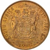 South Africa, 2 Cents, 1988, AU(55-58), Bronze, KM:83