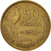 France, Guiraud, 50 Francs, 1954, Paris, AU(50-53), KM:918.1, Gadoury 880