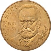 France, Victor Hugo, 10 Francs, 1985, SUP+, Nickel-Bronze, KM:956, Gadoury:819