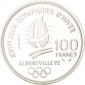 France, 100 Francs, 1991, FDC, Argent, KM:995