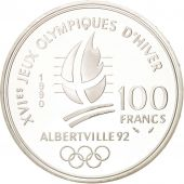 France, 100 Francs, 1990, FDC, Argent, KM:983