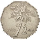 Philippines, 2 Piso, 1984, TTB, Copper-nickel, KM:244