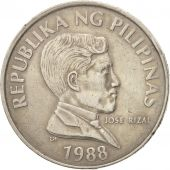Philippines, Piso, 1988, TTB, Copper-nickel, KM:243.1