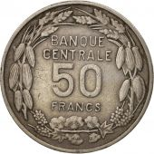 Cameroun, 50 Francs, 1960, Paris, TTB, Copper-nickel, KM:13