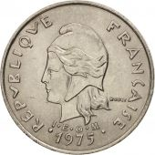 French Polynesia, 20 Francs, 1975, Paris, TTB+, Nickel, KM:9