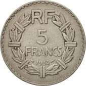 France, Lavrillier, 5 Francs, 1933, Paris, TTB, Nickel, KM:888, Gadoury:760
