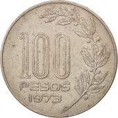 Uruguay, 100 Pesos, 1973, Mexico City, TTB+, Copper-Nickel-Zinc, KM:59