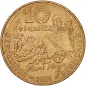 France, Victor Hugo, 10 Francs, 1985, TTB+, Nickel-Bronze, KM:956, Gadoury:819