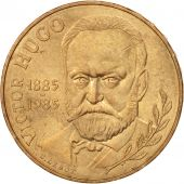 France, Victor Hugo, 10 Francs, 1985, SUP, Nickel-Bronze, KM:956, Gadoury:819