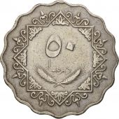 Libya, 50 Dirhams, 1975, TTB, Copper-nickel, KM:16