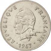 Monnaie, Nouvelle-Calédonie, 50 Francs, 1967, Paris, TTB+, Nickel, KM:7