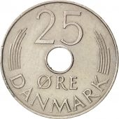 Danemark, Margrethe II, 25 Öre, 1925, Copenhagen, TTB+, Copper-nickel, KM:861.1