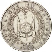 Djibouti, 50 Francs, 1983, Paris, TTB+, Copper-nickel, KM:25