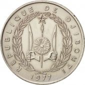 Djibouti, 50 Francs, 1977, Paris, TTB+, Copper-nickel, KM:25