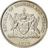 TRINIDAD & TOBAGO, 10 Cents, 1976, MS(64), Copper-nickel, KM:31