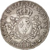 France, Louis XVI, �cu aux branches dolivier, Bayonne,VF(30-35),Silver,KM 564.9