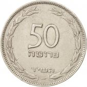 Israel, 50 Pruta, 1954, Tel Aviv, TTB+, Copper-nickel, KM:13.2