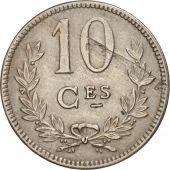 Luxembourg, Charlotte, 10 Centimes, 1924, TTB, Copper-nickel, KM:34
