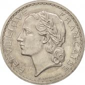 France, Lavrillier, 5 Francs, 1937, Paris, TTB+, Nickel, KM:888, Gadoury:760