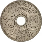 France, Lindauer, 25 Centimes, 1917,MS(65-70),Copper-nickel,KM:867a,Gadoury 380