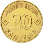 Latvia, 20 Santimu, 1992, TTB+, Nickel-brass, KM:22.1
