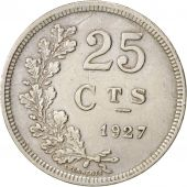 Luxembourg, Charlotte, 25 Centimes, 1927, TTB+, Copper-nickel, KM:37