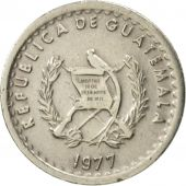 Guatemala, 5 Centavos, 1977, TTB+, Copper-nickel, KM:270