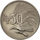 Indonesia, 50 Rupiah, 1971, AU(50-53), Copper-nickel, KM:35
